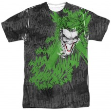 The Joker  Whats So Funny DC Comics Sublimation T-Shirt