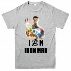 I Am Iron Man Tony Stark Avengers T-Shirt