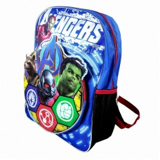 Marvel Avengers Iron Man Hulk Ant Rocket Backpack School Bag