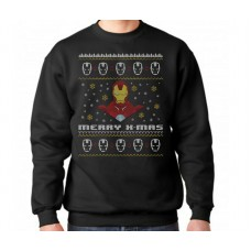 Iron Man Avengers Christmas Jumper