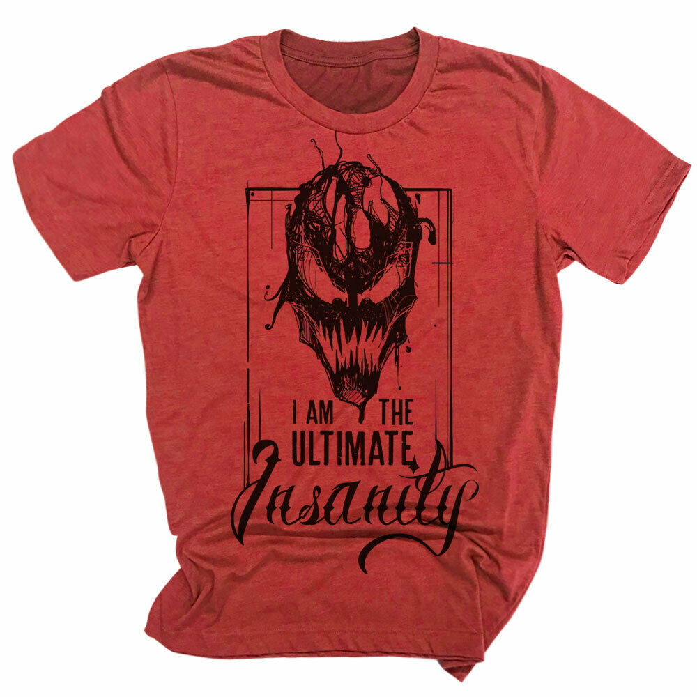 Carnage Face Insanity T-shirt